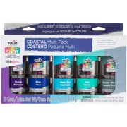 Tulip Colorshot Instant Fabric Color Spray Variety 5/pkg-coastal
