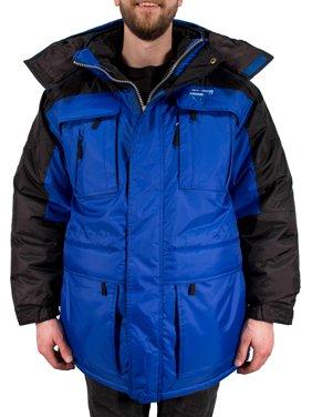 Freeze Defense Warm Men's 3in1 Winter Jacket Coat Parka & Vest