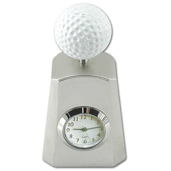Ruda Overseas 086 3'' C 1 3/4'' (Min 2) Golf Ball Clock on Stand
