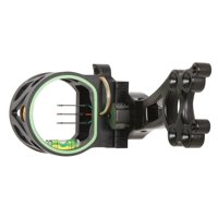 Trophy Ridge Joker 3-Pin Sight with Fiber Optic Pins, Reversible Sight Mount, and Multiple Mounting Holes