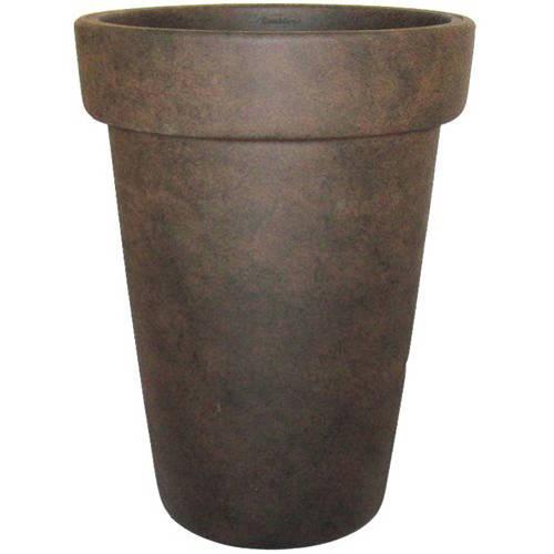 "Better Homes and Gardens 16"" Bombay Garden Vase, Rust"