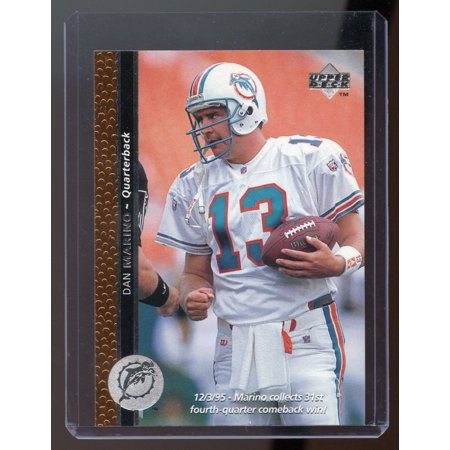 1996 Upper Deck #1996 Dan Marino Miami Dolphins Promotional Card