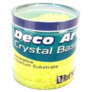 Red Sea Deco Art Crystal Base Aquarium Substrate Yellow