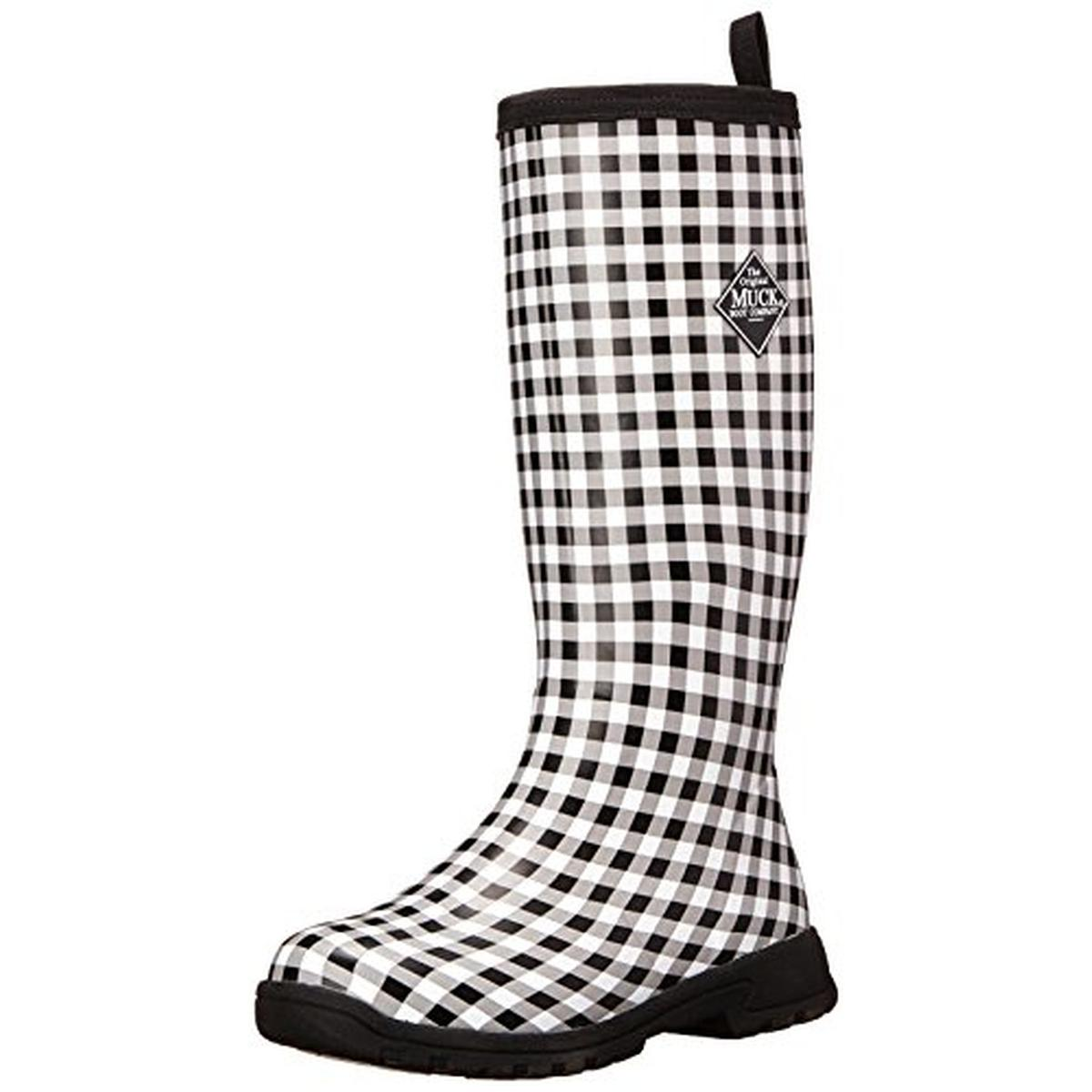 Muck Boot Womens Breezy Tall Rubber Knee-High Rain Boots - Walmart.com