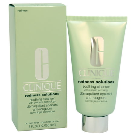 Redness Solutions Soothing Cleanser - All Skin Types by Clinique for Unisex - 5 oz Cleanser (Redness Solutions)