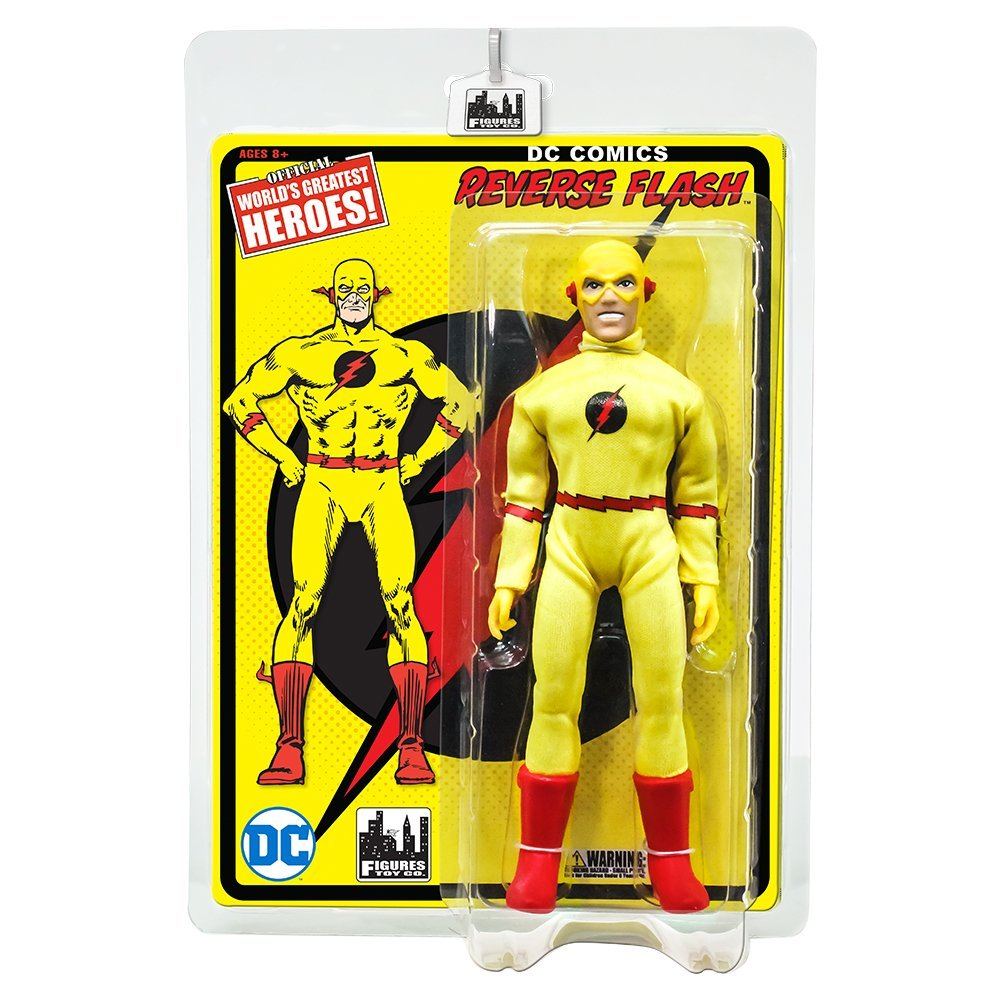 Flash Retro 8 Inch Action Figures Series 1: Reverse Flash