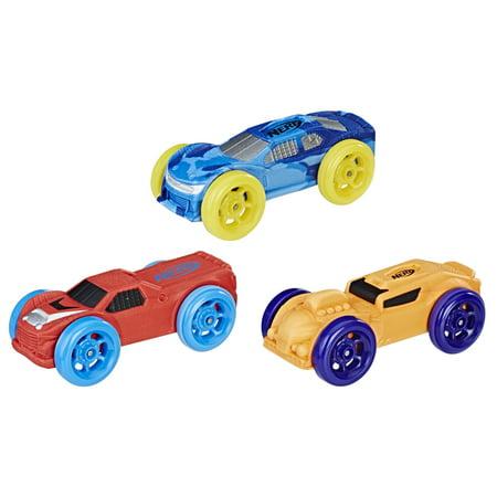 Nerf Nitro Foam Car 3-Pack (Version 2) Nitro Race Car