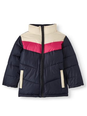 Climate Concepts Girls' Color Blocked Pu