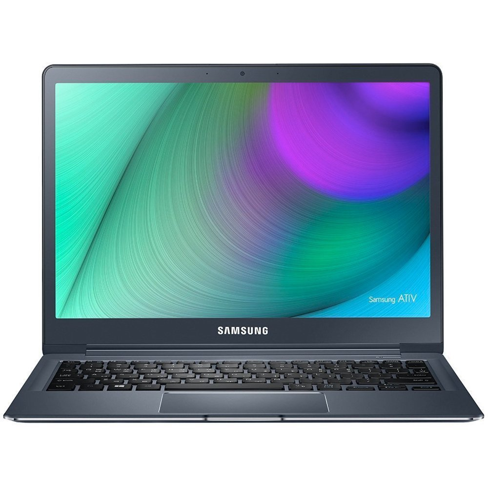 Samsung ATIV Book 9 12.2 Inch Laptop (Intel Core M-5Y31, 8 GB, 256 GB SSD, Windows 10, Imperial Black, 12.in WQXGA Displ