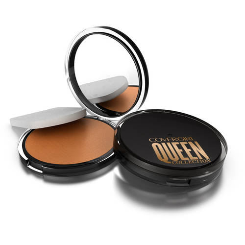 COVERGIRL Queen Collection Lasting Matte Pressed Powder, Light 400, .37 oz