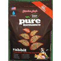 Grandma Lucy's Pureformance Grain-Free Rabbit Freeze Dried Dog Food, 10 Lb
