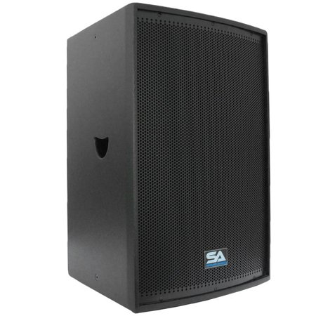 seismic audio premium black 15 loudspeaker or monitor pa dj speaker band new lava 15single. Black Bedroom Furniture Sets. Home Design Ideas