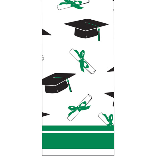 School Color Tablecover, Emerald Green