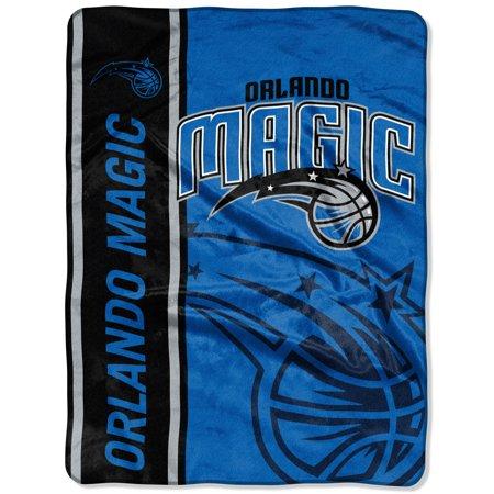 "Orlando Magic The Northwest Company Hooper 60"" x 80"" Oversized Raschel Throw Blanket - No Size"