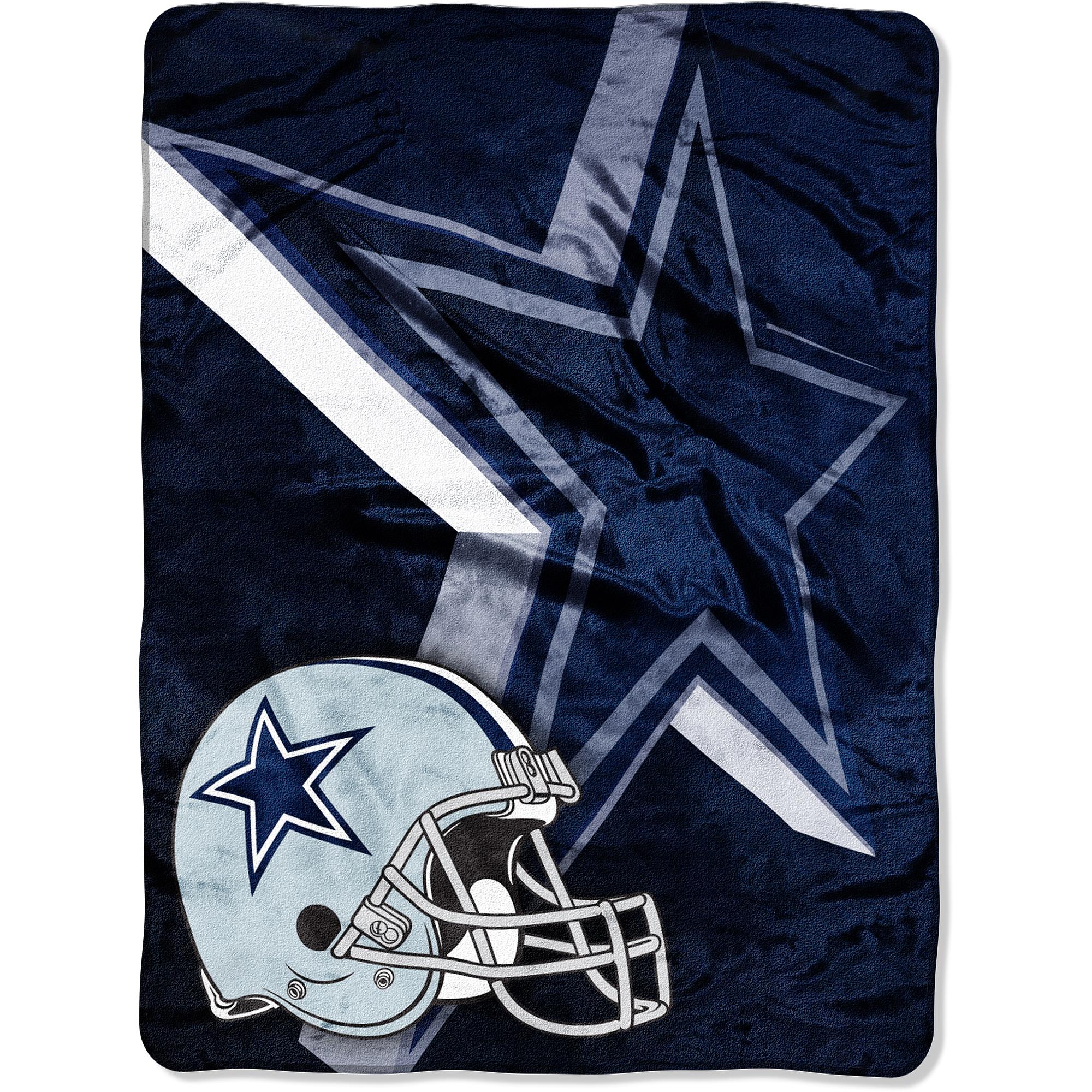 NFL Cowboys 60x80 Micro Raschel Blanket