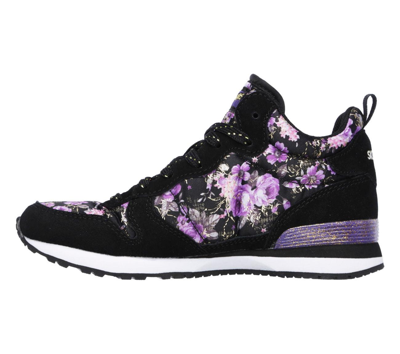 7f3bfe5503b0 Skechers - Skechers 84210 BKPR Girl s RETROSPECT - HOLLYWOOD ROSE Sneaker -  Walmart.com