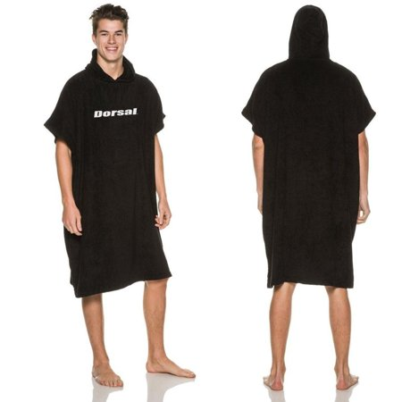 Dorsal Changing Robe Surf Poncho - Thick Microfiber for Wetsuit Beach Towel Removal