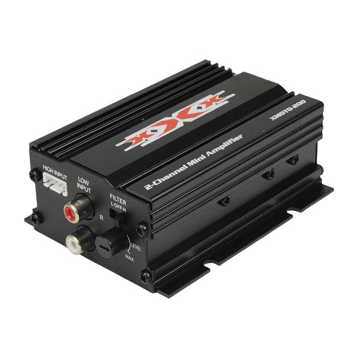 Audiopipe XMOTO200 Xxx 2 Channel Mini Amplifier