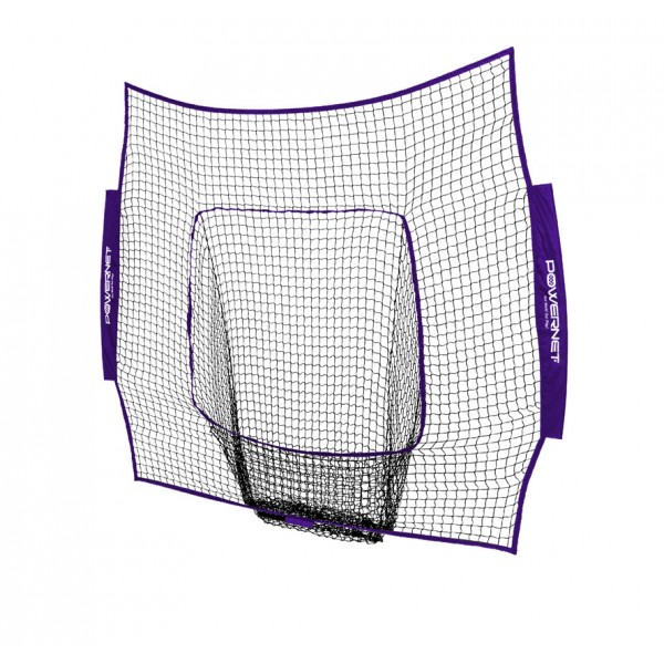 PowerNet Baseball and Softball 7x7 Color Nets (Net Only) Replacement - New Team Color - Purple