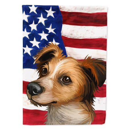 Carolines Treasures CK6597CHF Kromfohrlander American Canvas House Flag - 28 x 0.01 x 40 in. - image 1 de 1