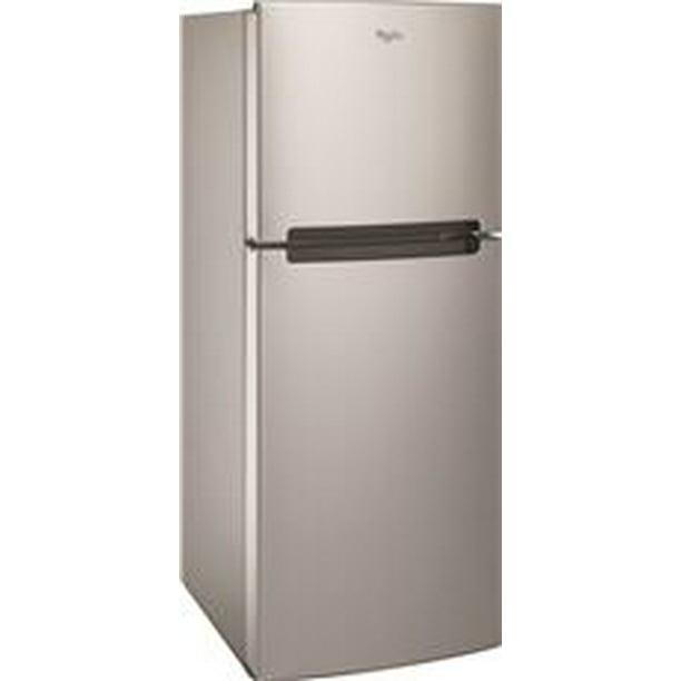 Whirlpool® 11 Cu. Ft. Top-freezer Refrigerator, Stainless Steel, Reversible Door