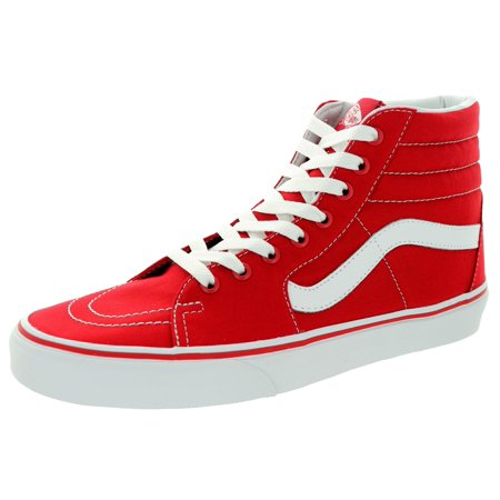4377624780 Vans - Vans VN-0TS9GYK  SK8-HI Canvas Formula One Red White Sneaker ( 7.5  B(M) US Women   6 D(M) US Men) - Walmart.com