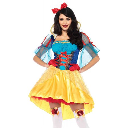 Leg Avenue Women's Storybook Classic Snow White (Famous Children's Book Character Costumes)