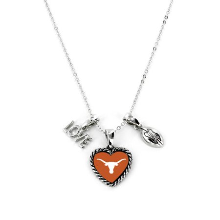 Texas Longhorns Necklace Charmed Sport Love