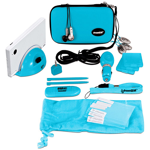 DreamGear DSi 18-in-1 Starter Kit, Blue(DSi)