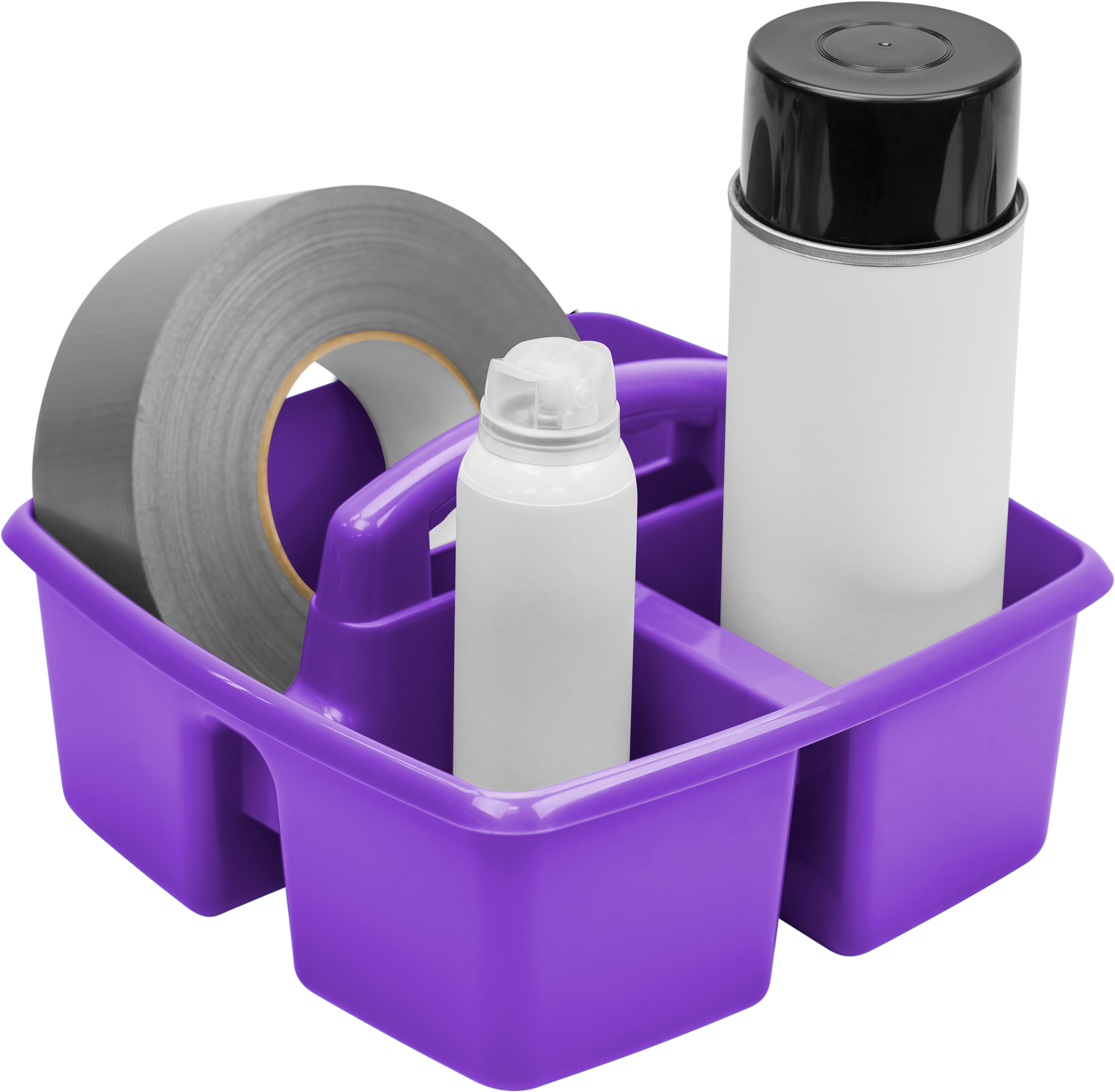 Storex Industries Classroom Art and Supplies Caddy, Multiple Color Options(6 units/pack)