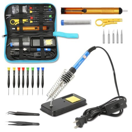 Needle Soldering Tip (Electric Soldering Iron Gun Tool Kit 110V 60W Control ℃ Welding Station Tip)