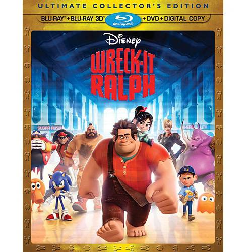 Wreck It Ralph (3D Blu-ray   Blu-ray   DVD   Digital Copy)