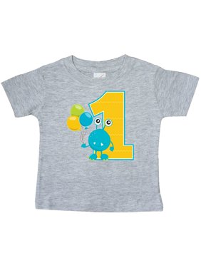 First Birthday Monster Baby T-Shirt