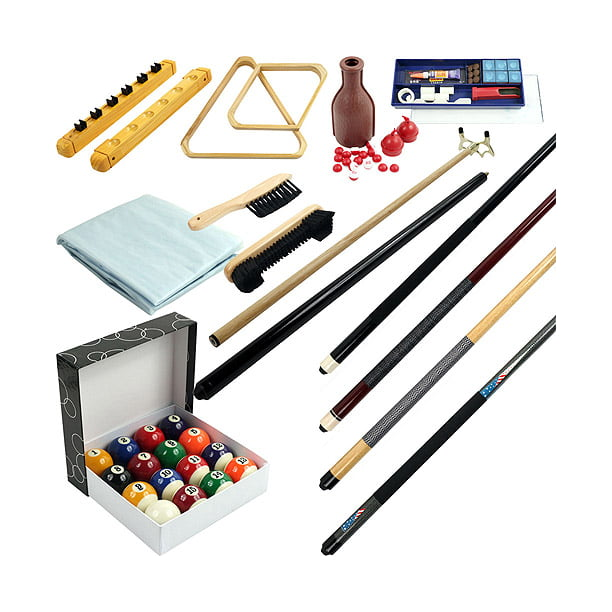 32-Piece Billiards Accessories Kit for Pool Table - Walmart.com