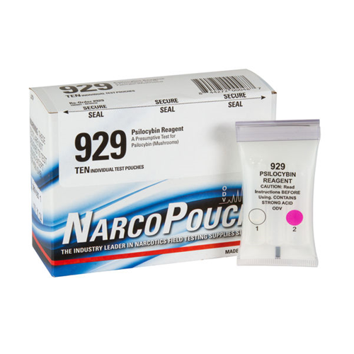 Authentic Armor Forensics ODV NarcoPouch Psilocybin Reagent Test 10 Pack 929
