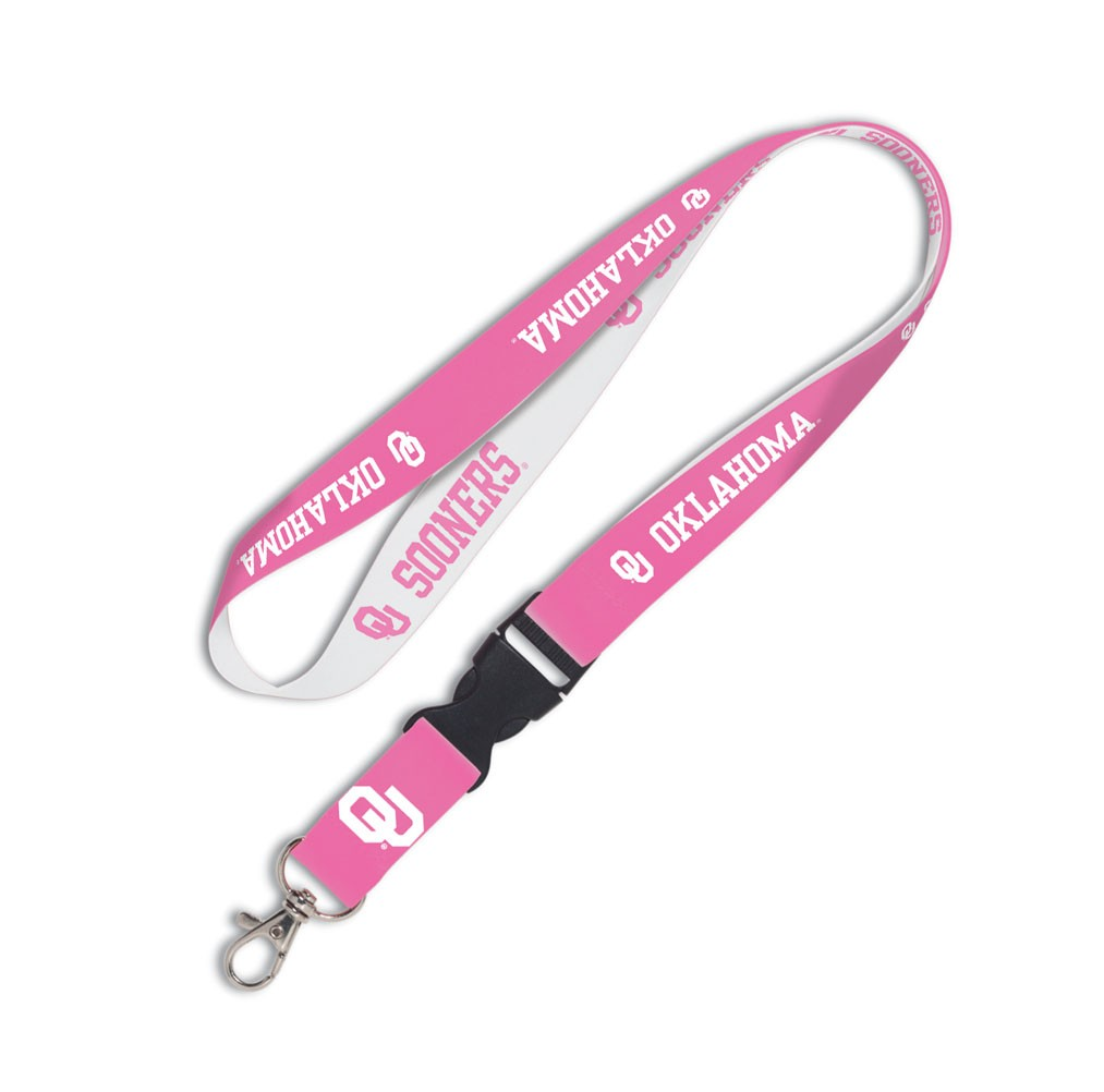 Oklahoma Sooners Official NCAA 20 inch  Lanyard Key Chain Keychain by WinCraft