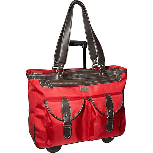 """Clark & Mayfield 18.4"""" Marquam Rolling Laptop Tote"""
