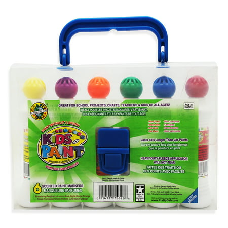 - Crafty Dab Scented Paint Markers, Pack of 6