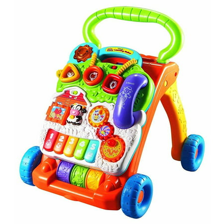 vtech sit-to-stand learning walker (frustration free