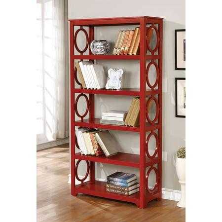 Furniture Of America Madison Retro Bookshelf Multiple Colors
