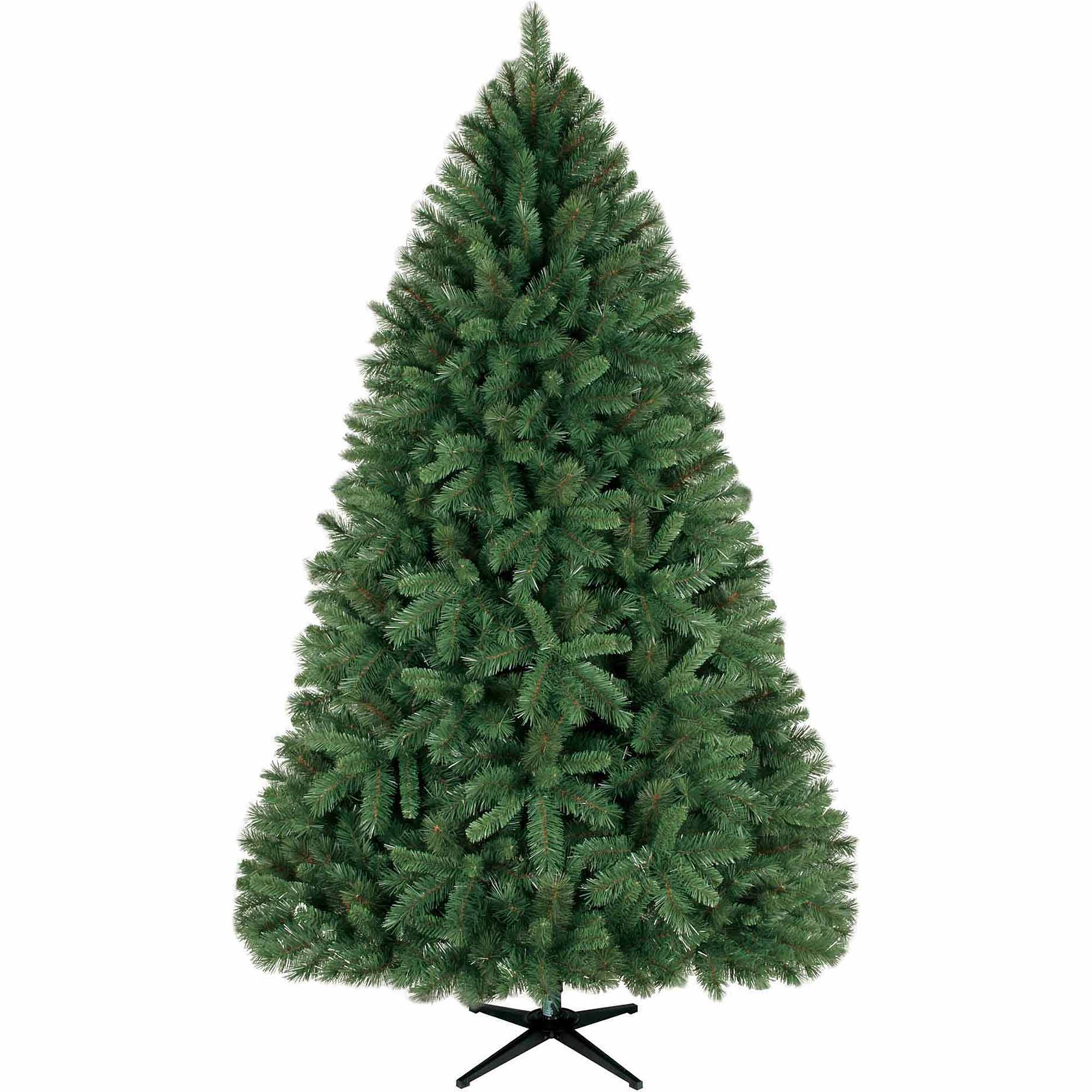 Holiday Time Non Lit 7 5 Donner Fir Christmas Tree Green