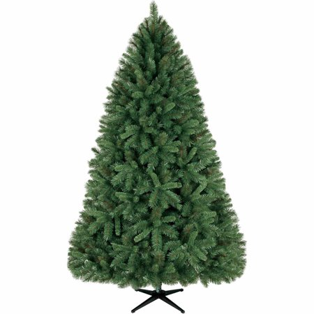 Holiday time non lit 7 5 39 donner fir christmas tree green for Non christmas tree