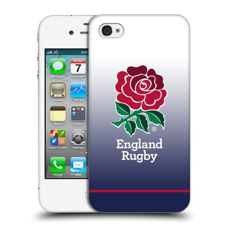 OFFICIAL ENGLAND RUGBY UNION 2017/18 KIT HARD BACK CASE FOR APPLE IPHONE (Ospreys Home Rugby)