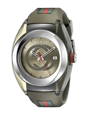 Gucci Unisex Sync Rubber Strap 46mm Watches