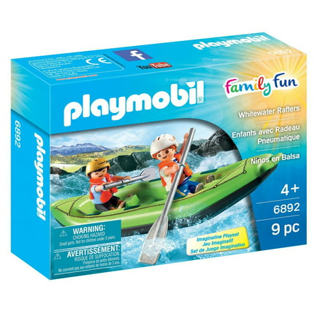 Rafter Shield - Whitewater Rafters - Family Fun - Imaginative Play Set by Playmobil (6892)