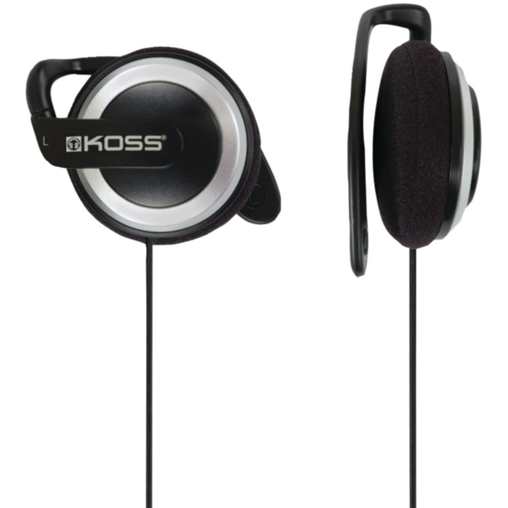 Koss 175548 On_Ear Ear Clip Headphones _ 4 ft Cord Electronics Accessories by Koss