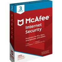 McAfee Internet Security 3 Device Antivirus Software