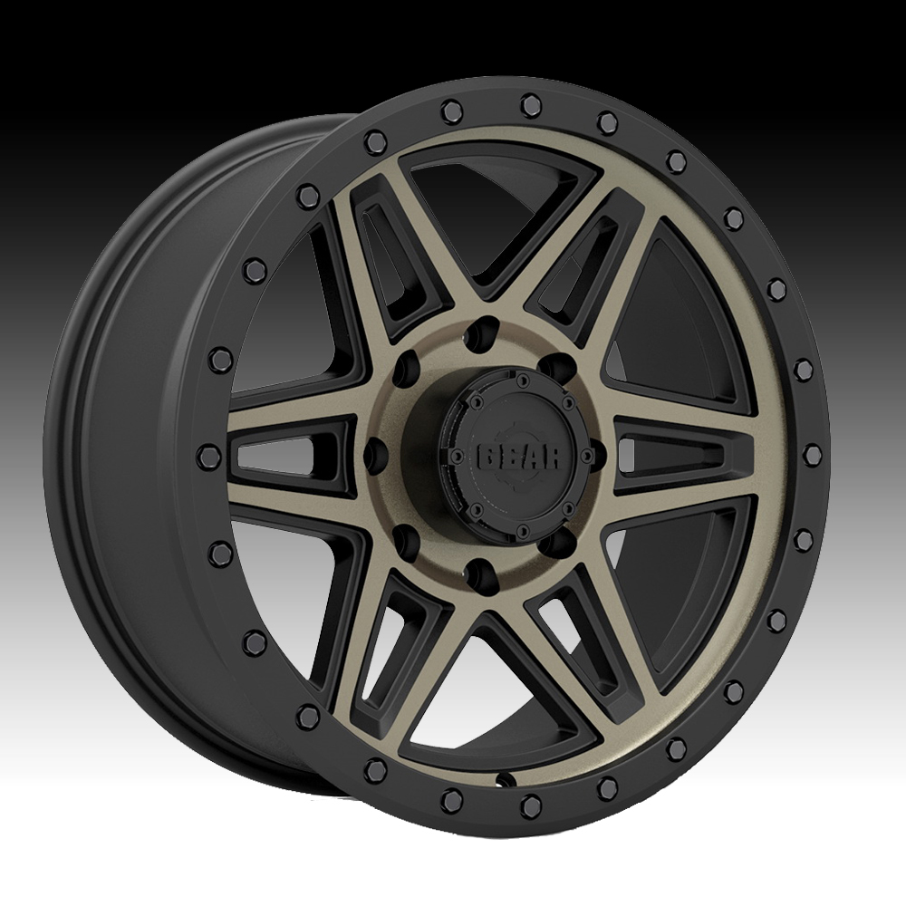 Gear Alloy 739BZ Endurance Machined Black Tinted 17x8.5 6x135 0mm (739BZ-7856300)
