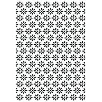 """Kaisercraft Embossing Folder 4""""X6""""-Daisies"""