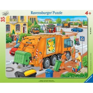 Waste Collection 35-Piece Puzzle